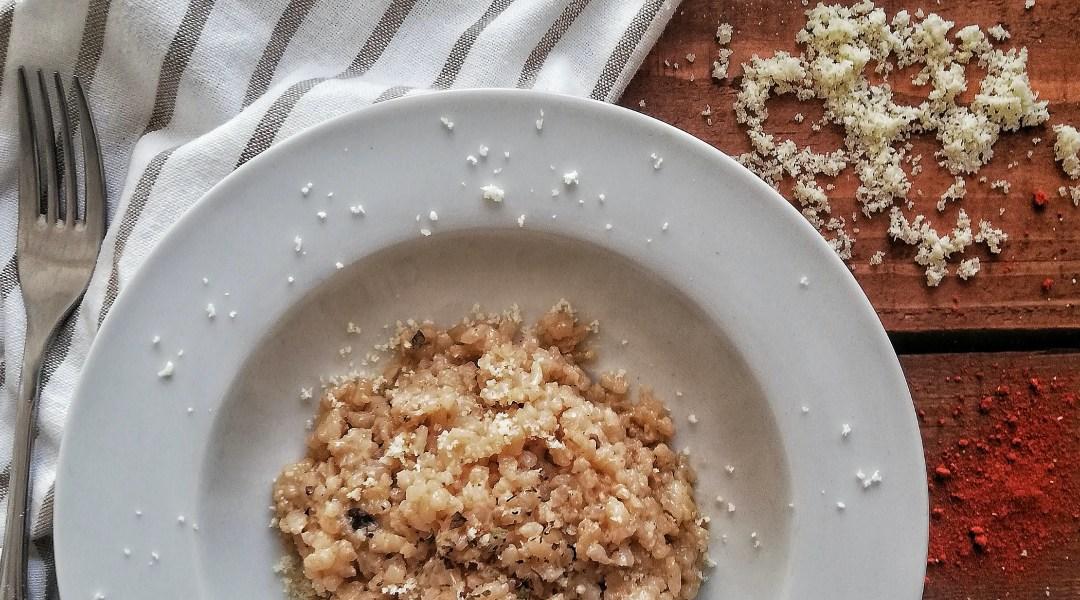 rižoto s vrganjima