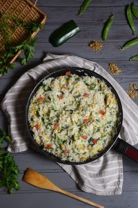 rižoto s tikvicama