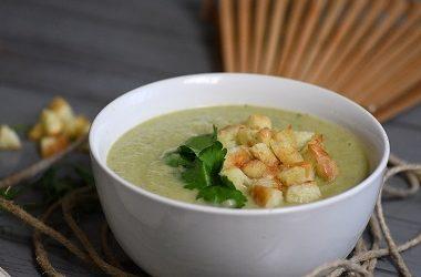 Krem juha od stabljika blitve