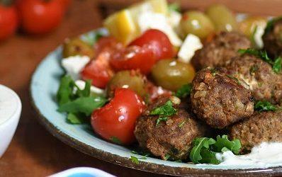 Grčke mesne okruglice sa feta sirom