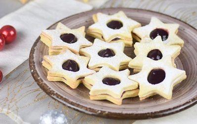 Linzeri sa džemom od grožđa i butternut tikve