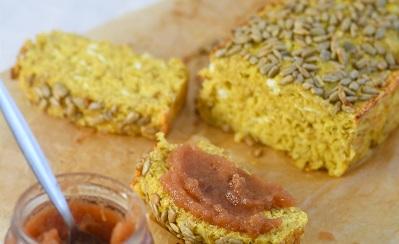 Proteinski kruh sa sirom i zobenim pahuljicama